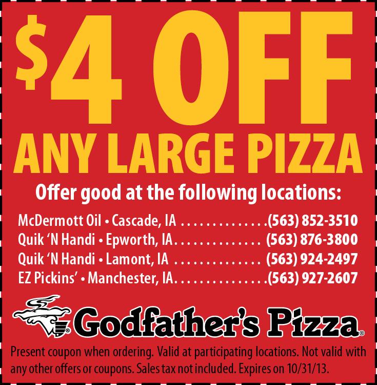 Godfather's printable coupons
